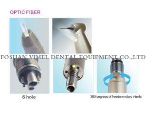 歯科光ファイバ内部チャネルの低速Handpiece 6の穴