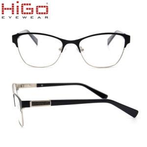 Armações de óculos redondos clássico Nova estrutura óptica de metal por  grosso de óculos 54b4e3826a