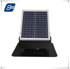 25W дневной и ночной работой вентилятора на чердак солнечной энергии зеленый дом