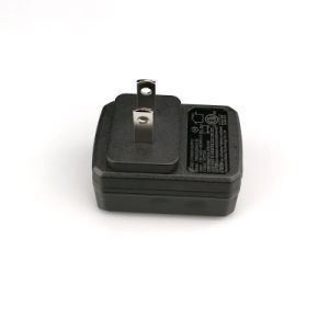 5V 1.5A USB-Energien-Adapter hergestellt in China in Schwarzweiss