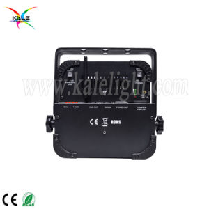 電池無線6in1 DMXの同価党効果の段階の照明