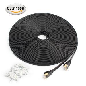 Hoge snelheid 100FT/30m LAN van FTP Cat7 Ethernet Kabel