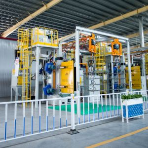 Os fornecedores de máquinas mais novas vendas quente Mayflay Ganchos Duplo rebentar Shot Limpando a Máquina para a superfície dos alimentos à prova de corrosão com válvula de fluxo automático
