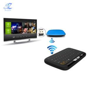 H18+2.4GHz de Mini Draadloze Afstandsbediening van het Toetsenbord Qwerty Volledige Touchpad voor de Androïde Doos van TV van PC van de Doos van TV Slimme