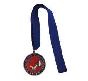 旧式な銅によってスポーツのTaekwondoめっきされる記念するメダル
