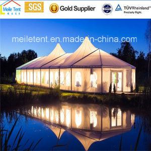 Im Freienereignis-Aluminiumpartei Belüftung-Hochzeits-Dach-Oberseite-Festzelt-Zelt