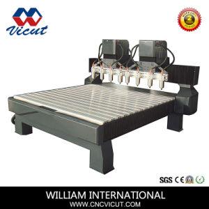 6つのスピンドルCNCの木製のルーターVct-2013W-6h