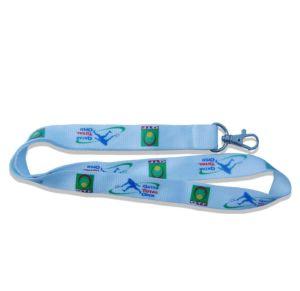 Kundenspezifische fördernde Geschenk-Disadjustable gedruckte Firmenzeichen-Sicherheits-Seil gesponnene Abzuglinie (060)