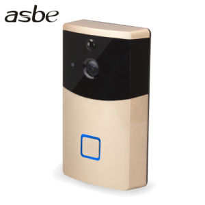 Cámara WiFi IP de vídeo inalámbrica de largo alcance de timbre de llamada