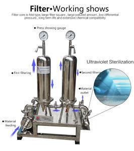 De volledig Automatische DuplexFilter met Dubbele Patronen voor Water wordt zacht
