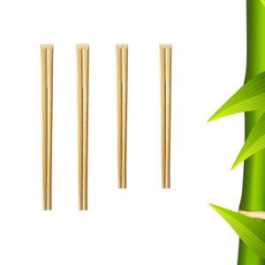 Bacchette di bambù in manicotto di carta