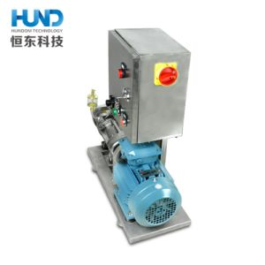 Pompa di vite igienica del doppio di trasferimento dell'emulsione dell'acciaio inossidabile