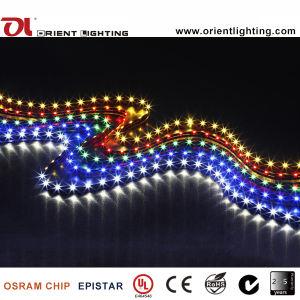 Indicatore luminoso di striscia flessibile di Lato-Alta vista Strip-120 LEDs/M LED di densità del Ce SMD 335 dell'UL