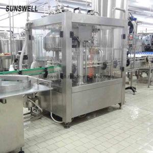 自動プラスチックガラスビンのオレンジジュースの熱い満ちるパッキング機械