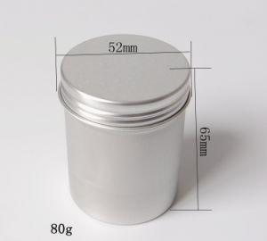 80g De óleo Essencial Cosméticos Batom Latas De Alumínio Com Tampa
