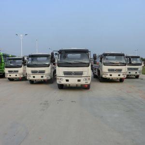 手動4X2 Euro3 6は5000リットルの燃料の分配のトラックを動かす