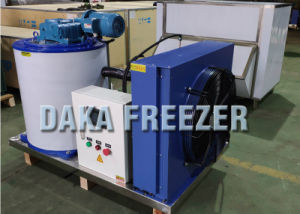 1 tonne Machine à glace pour les produits aquatiques