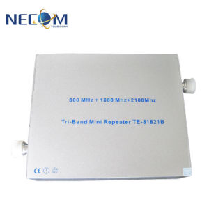 GSM/3G het dubbele Signaal HulpTe8021b, Mobiele RadioRepeater, de Repeater van de Band van de Telefoon van de Cel voor Gebouwen