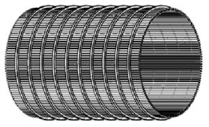 Filter van de Trommel van het Water van Tpn de Uitgaande