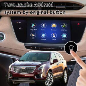 Plug&Play Android 6.0 2014-2018 GPS Navigator pour Cadillac Xts/SRX/ATS/CTS/xt5/avec WiFi Miracast Carte en ligne Google