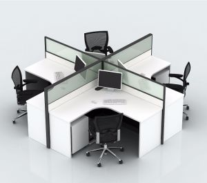 Los diseños de estaciones de trabajo americano moderno el ahorro de espacio de oficina pequeña cubículos (SZ-WS608)