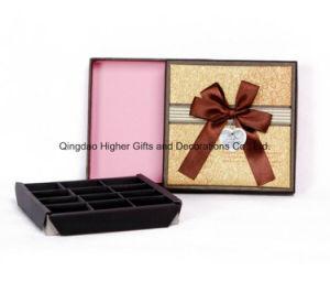 Het stijve Vakje van de Verpakking van het Document van de Ambacht, het Buitensporige Vakje van het Karton van de Gift van Juwelen, Vakje van de Vertoning van het Parfum het Kosmetische, het Verpakkende Vakje van Mooncake van de Chocolade van de Cake