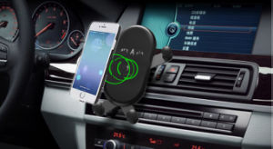 10W Ци Быстрая беспроводная автомобильное зарядное устройство