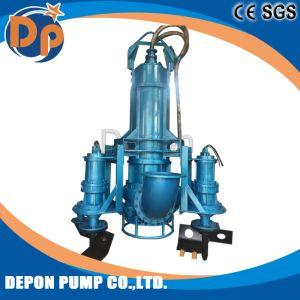 Pompa sommergibile elettrica dei residui con l'agitatore