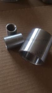 Zoccolo O.D. di Bsp dell'acciaio inossidabile lavorato dal tubo