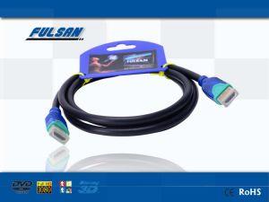 HDTVのための二重カラーHDMIケーブル