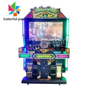 Het kleurrijke Ontspruiten van de Arcade van het Pretpark van de Machine van het Videospelletje van de Verkoop van het Park