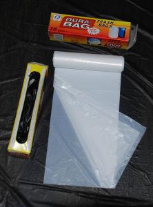 [هدب/لدب] بيضاء بلاستيكيّة نجم ختم صوف [ترش بغ] على لف