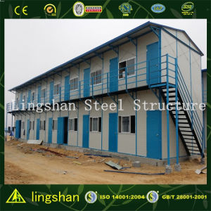 Africa Low Cost Steel Structure Labor Camp Prefab House