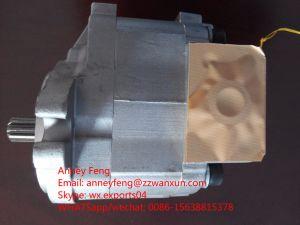 Bomba de engranajes de Komatsu 705-73-30010 cargadora de ruedas para WA120-3/4
