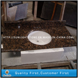 Granit naturel préfabriqués Baltic Brown Cuisine, salle de bains, Counter Tops de courtoisie