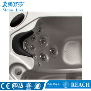 5 Pessoa Acrylic Massagem banheira de hidromassagem com 2 salões (M-3314A)