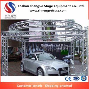いろいろな種類のオートショーの自動車展覧会のためのShengseの段階装置のアルミ合金の装飾の照明トラス