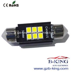 Nueva llegada Canbus 39mm LED embellecedor
