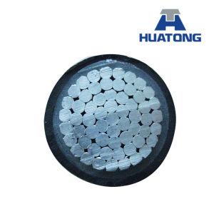 Tipo cavo ambientale aereo isolato PVC dell'indicatore luminoso di memoria della lega di Al/Alumininum