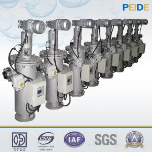Filtro da acqua a pulizia automatica automatico del acciaio al carbonio per irrigazione