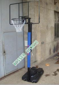Reizbarer Einstellungs-Basketball-Standplatz