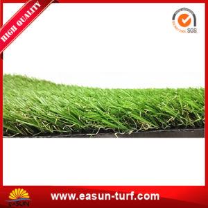 10 anni della garanzia di erba verde artificiale del prato inglese per il giardino di paesaggio