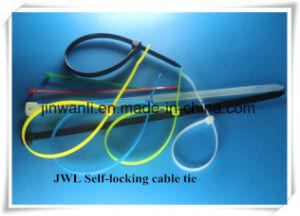 ULの承認PA66ワイヤー包むことのための自動閉鎖ナイロンケーブルのタイ