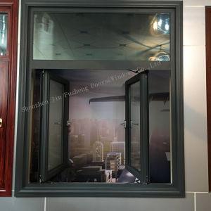 Двойные стекла на снижение уровня шума алюминиевый профиль дверная рама перемещена окна