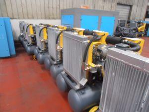 Kaishan lgjy-3.6/6 de Elektrische Draagbare Compressor van de Schroef met de Tank van de Lucht