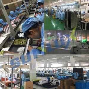 Eficiência energética PBT alumínio 10W 85V-265V 2700-6500K E27 Lâmpada Lâmpada LED