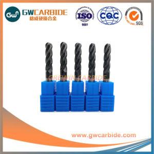 Recubrimiento de carburo de tungsteno HRC50 Tiain molinos de extremo plano