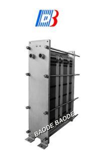 L'alimentation sanitaire plaque plats en acier inoxydable échange de chaleur (l'égalité M3)