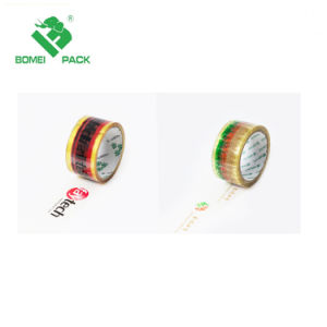 De hoge Afgedrukte Band BOPP van de Adhesie Douane voor het Verzegelen van het Karton