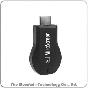 Visor de automóveis Mirascreen Wireless TV HDMI Stick Dongle WiFi dongle